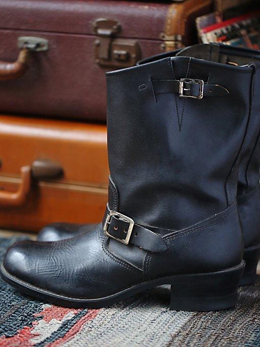 Vintage Men's Moto Boots