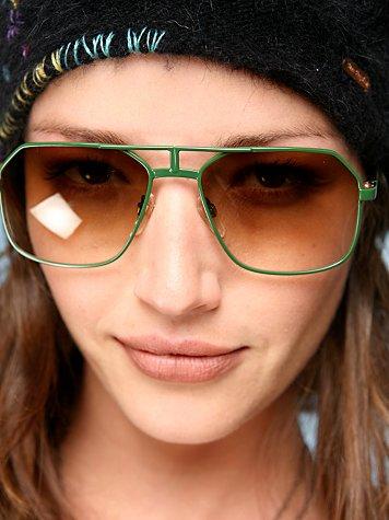 Zeke Aviator Sunglasses by Selima Optique