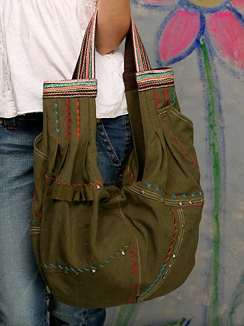 Rugged Slouchy Tote