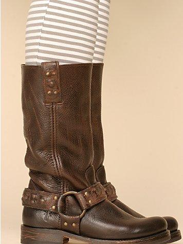 Veronica Studded Harness Boot